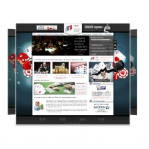 Webdesign et habillage site poker