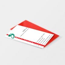 Création cartes de visite agence évènementielle