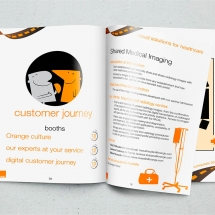 Création graphique booklet multipages évènement