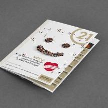 Plaquette promotionnelle agence immobilière