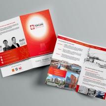 Réalisation brochure produits entreprise