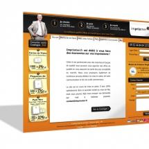 Design site vitrine plateforme web