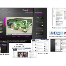 Stratégie digitale site web agence standiste