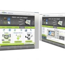 Création site web de présentation produits