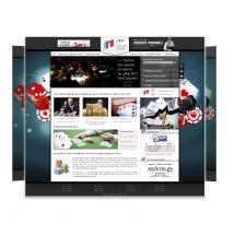 Webdesign et habillage site poker