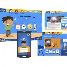 UX/UI design site responsive destiné aux enfants