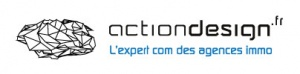 Logo Actiondesign communication agences immobilières