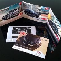 Création plaquette secteur automobile